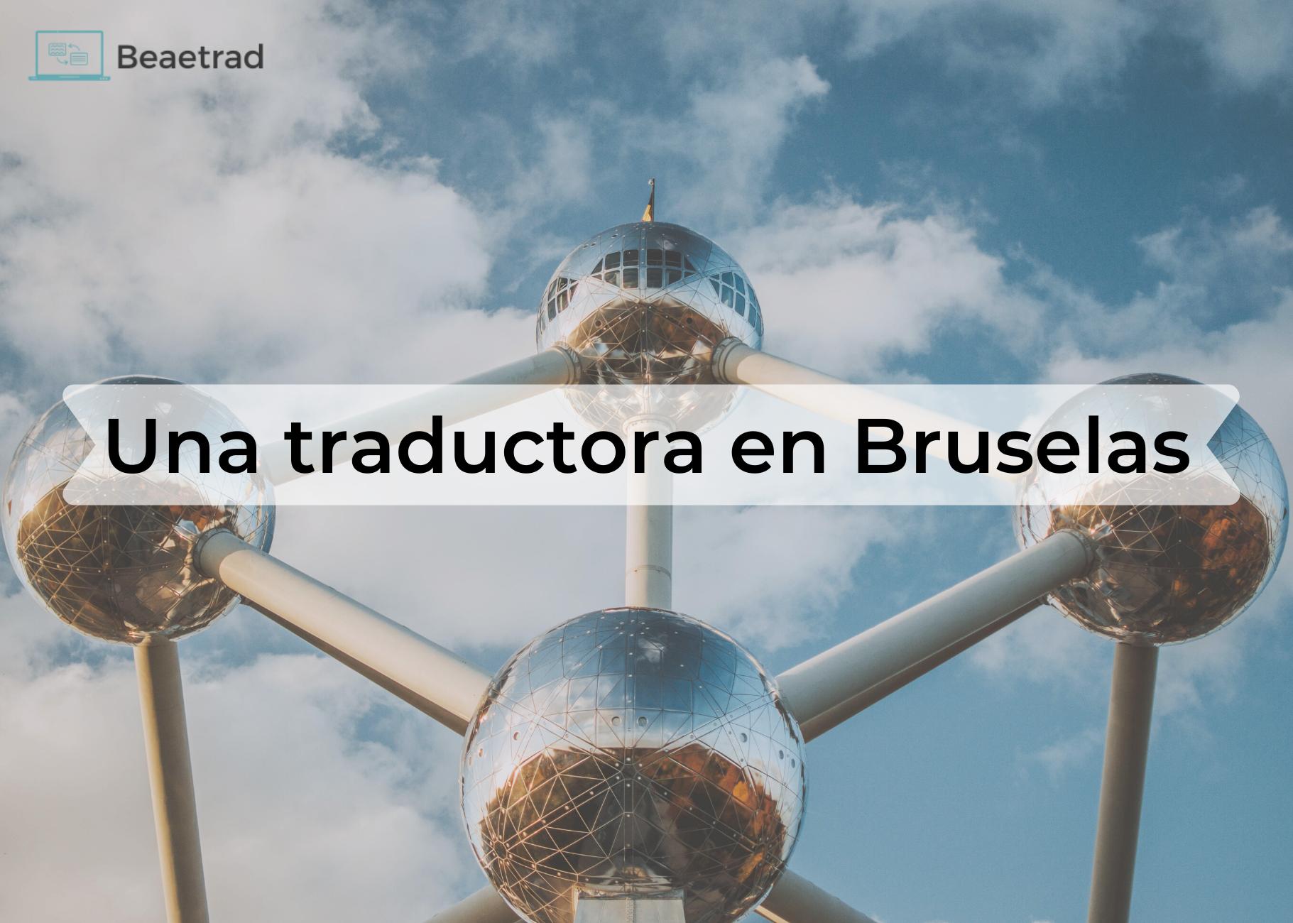 Una traductora en Bruselas